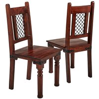 Jaipur Acacia Pair of Dining Chairs