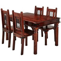 Jaipur Acacia Dining Table 4 Chairs.