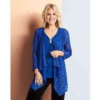 Lace And Jersey 2 In 1 Top