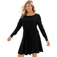 Knitted Corset Waist Dress