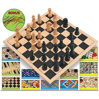 Image of 12 Game Super Set + Pick Up Sticks