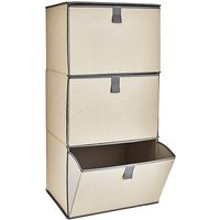 Collapsible 3 Drawer Storage Cabinet
