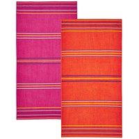 Rainbow Twin Pack Beach Towels