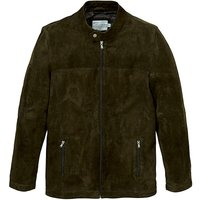 WandB Olive Suede Biker Style Jacket R