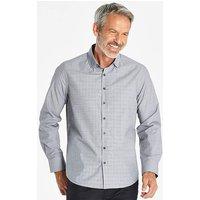 Grey Long Sleeve Check Shirt R