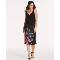 Oasis Photographic Lily Pencil Skirt