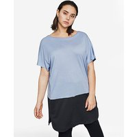 I.Scenery Colour Block Tunic.