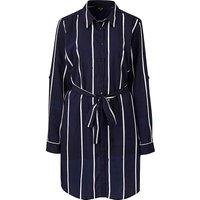 AX Paris Curve Stripe Shirt Dress at JD Williams Catalogue