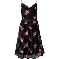 Little Mistress Embroidered Midi Dress