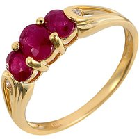 9ct Ruby Ring