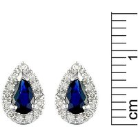 9ct Sapphire & Diamond Earrings at JD Williams Catalogue