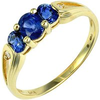 9ct Sapphire Ring