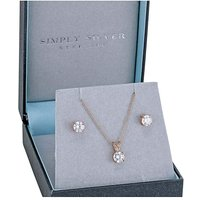 Simply Silver Jewellery Set