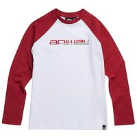 Animal Boys L/S Red Bert Tee