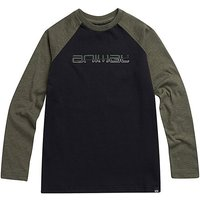 Animal Boys L/S Olive Marl Bert Tee