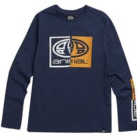 Animal Boys L/S Indigo Board Tee