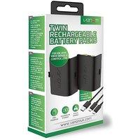 Xbox Series X Twin Black Battery Packs.