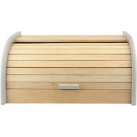 Bread Bin Roll Top Grey