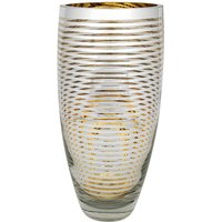 Gold Hoop Tapered Vase Large at JD Williams Catalogue