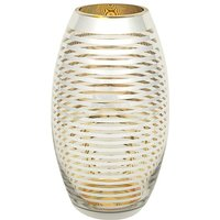 Gold Hoop Fat Vase at JD Williams Catalogue