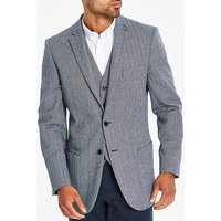 Jacamo Blue Tweed Blazer L