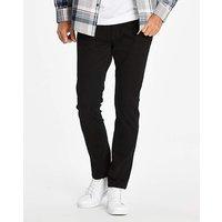 Stretch Skinny Black Jeans 29 in