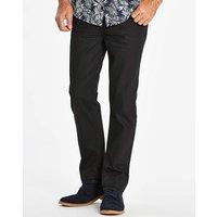 Slim Coated Black Jeans 31 in