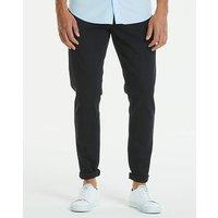 Slim Solid Black Jeans 31 in