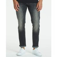 Slim Washed Black Jeans 29 in