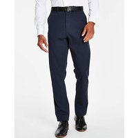 Navy Smart Belted Chino 33 in