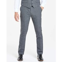 Grey Shape Memory Yarn Trousers R