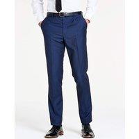 Navy Slim Textured Dinner Trousers R