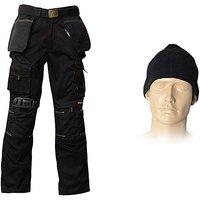Roughneck Trouser Pack Belt Hat Kneepads