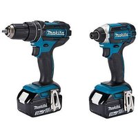 LXT 18V Combi and Impact Driver Twin Kit