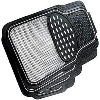 Set of 4 Heavy Duty Rubber Car Mats