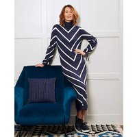 Roll Neck Chevron Dress at JD Williams Catalogue