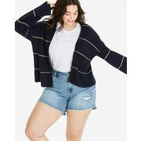Cropped Boxy Cardigan