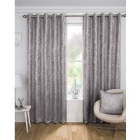 Halo Metallic Eyelet Curtain