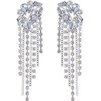 Mood Crystal Cluster Drop Earring