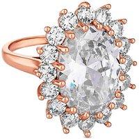 Jon Richard oversized kate ring