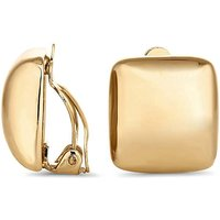 Jon Richard square clip on earring