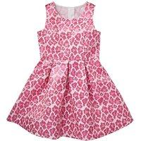 KD Girls Leopard Print Prom Dress
