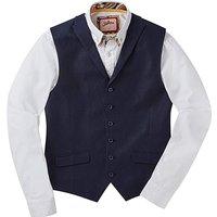 Joe Browns Linen Herringbone Waistcoat