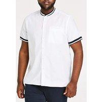 Baseball Collar S/S Shirt L