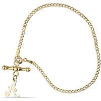 9ct Tbar Personalised Bracelet.