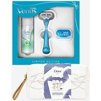 Venus Gift Set and Dove Mini Gift Set.