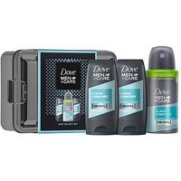 Dove Men+ Care Mini Tin Gift Set.