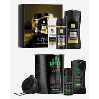Lynx Africa and Lynx Gold Gift Sets.