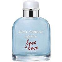 D&G Light Blue Love Is Love Homme 125ml.