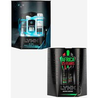Lynx Africa and Lynx Ice Chill Gift Sets.